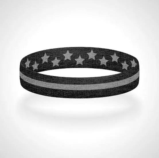 Thin Silver Line Bracelet