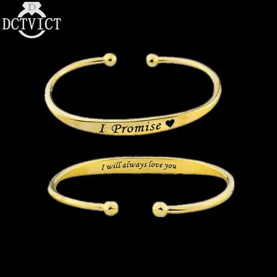 I Promise Bracelets
