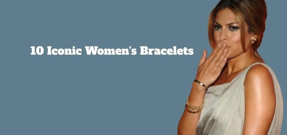 Women wearing bracelet