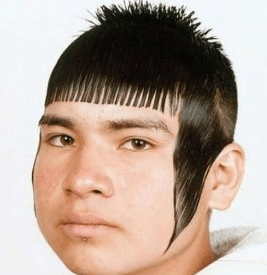 The Comb Hairstyle