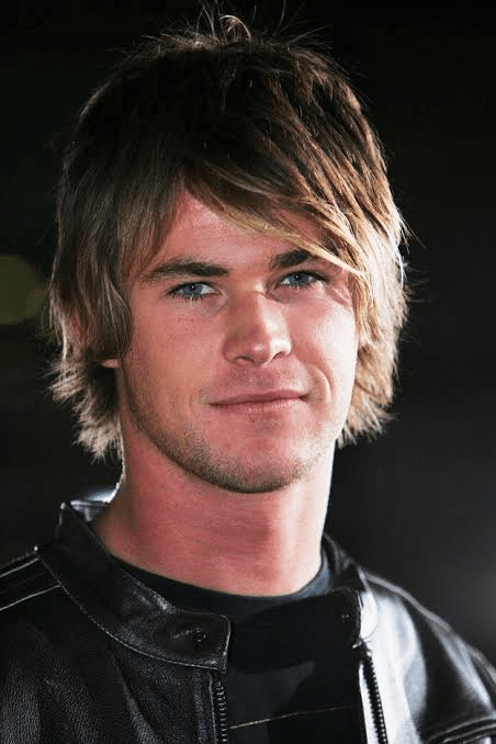 Chris Hemsworth's Layered Hair