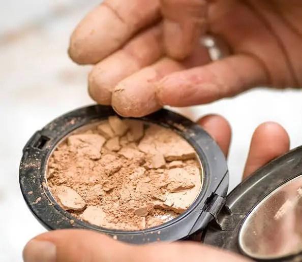 Cakey Makeup product