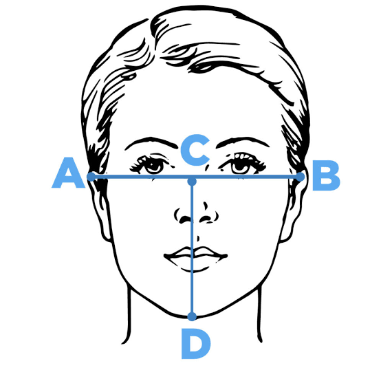 Determine Face Mask Size