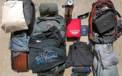 Adventure Travel Packing List