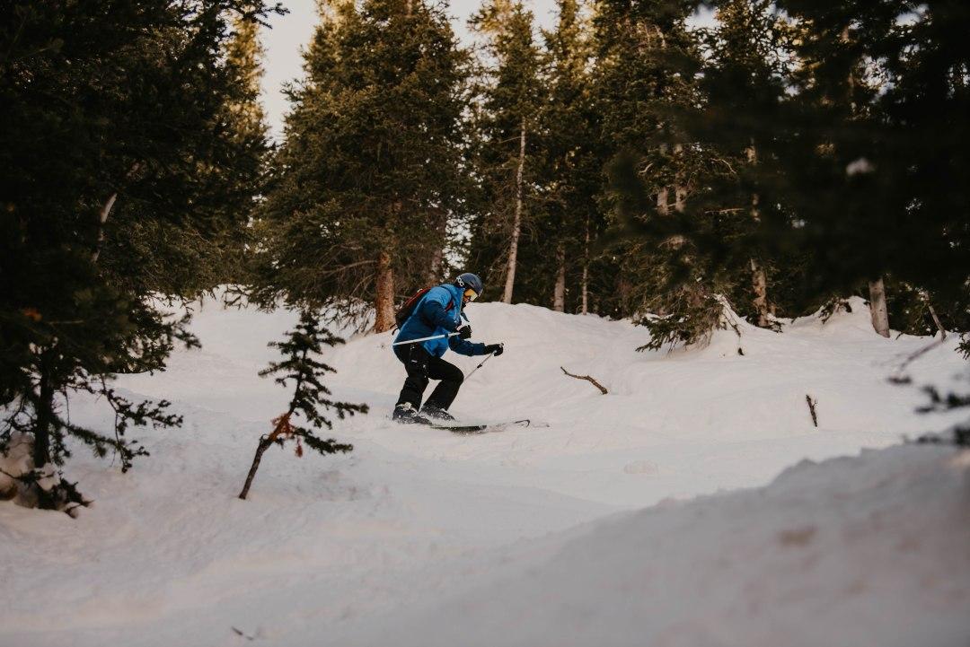 van ski trip in Colorado