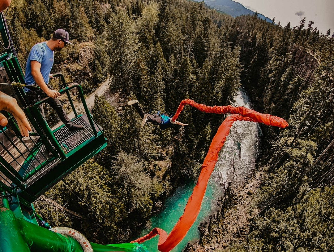 Bungee Jump in Whistler, BC