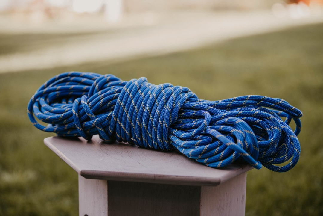 Climbing rope is one of the many great gift ideas for outdoor enthusiasts.