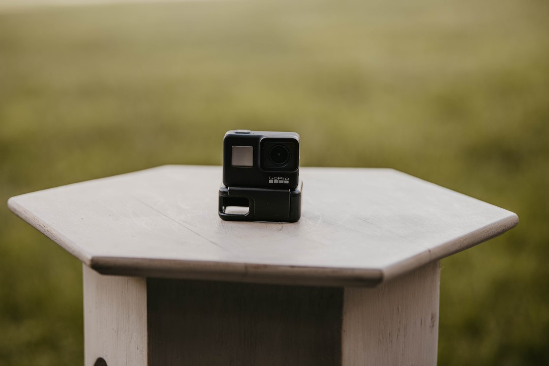 An action camera is one of the many great gift ideas for outdoor enthusiasts.