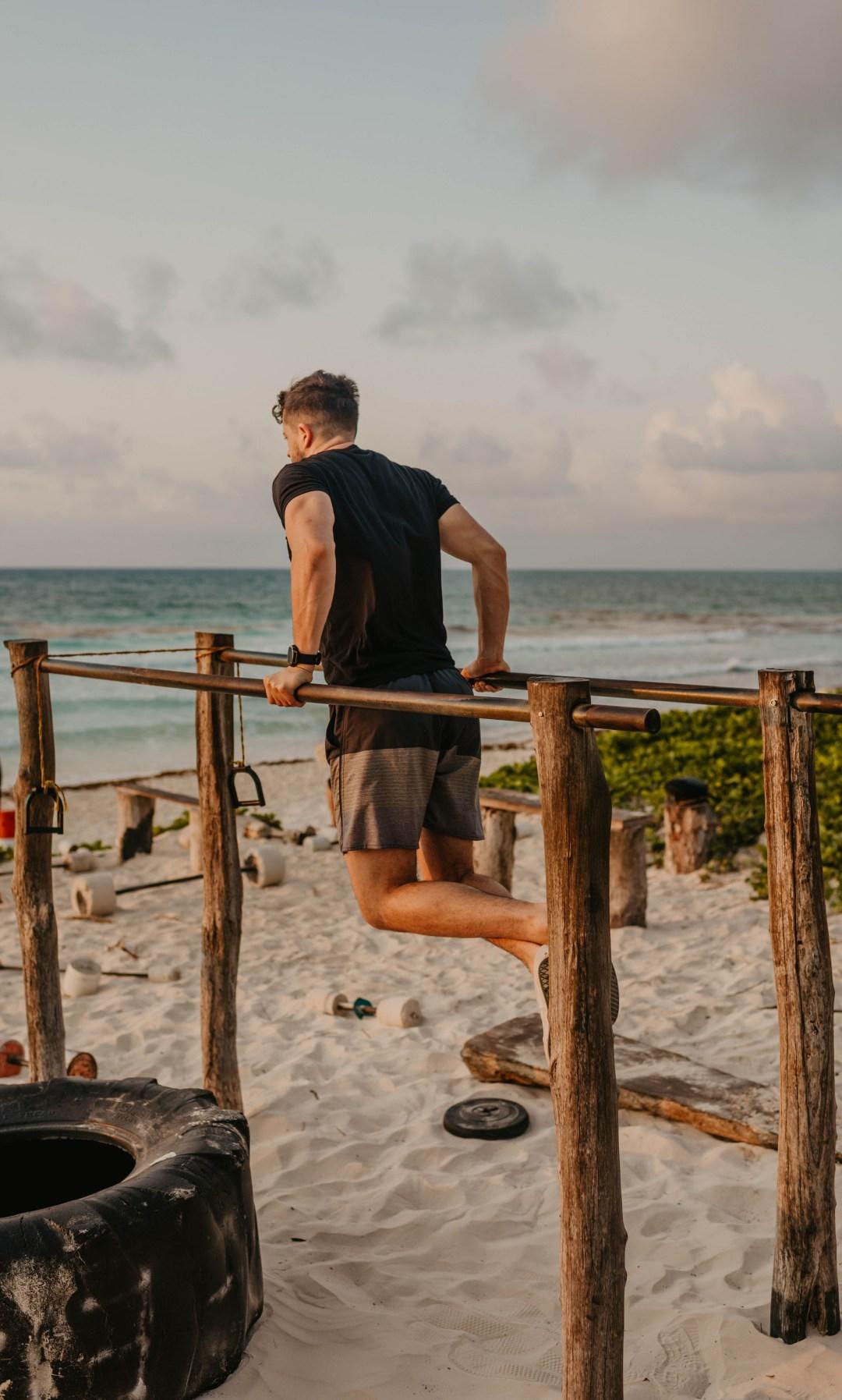 Efficient workout for adventure athletes.