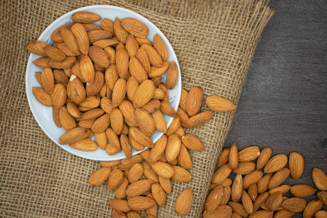 Almonds are filled with vitamin K and is essential vitamins and minerals to your health.