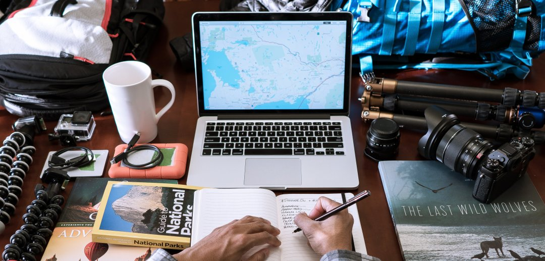 Adventure photography tips: Always take the time to do some planning for your trip.