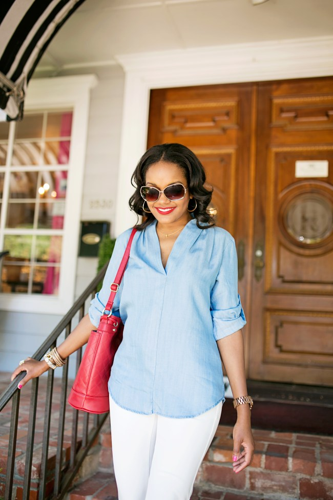 how to wear denim shirt, target aviator sunglasses