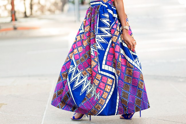 ANKARA FASHION, ANKARA MAXI SKIRT, AFRICAN PRINT SKIRT, DALLAS BLOGGER, BLACK FASHION BLOGGER, WHIMSY LUXXE , SUMMER TREND,