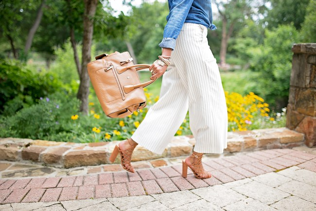 ann taylor wide leg pant, culottes, tory burch robinson, steve madden skales, schutz jaden dupe, office style, dallas blogger