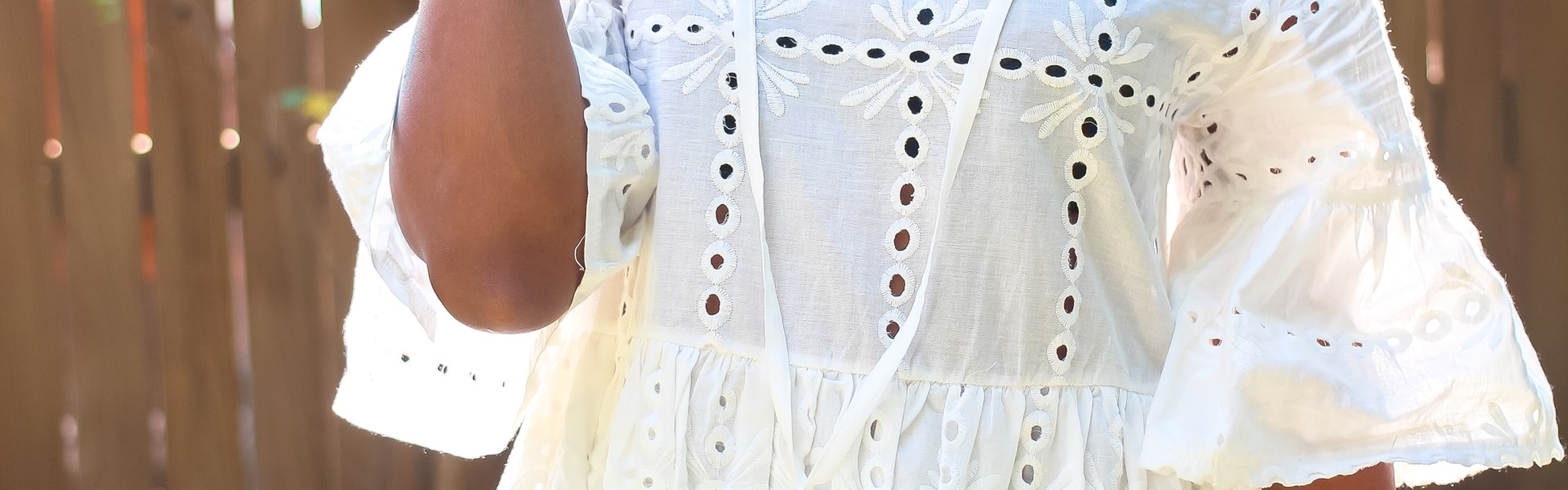 shein, beach blanket, eyelet top, transitional summer outfit, fall outfit inspo, shein eyelet dress, transitional summer dress, transitional fall dress, black fashion blogger, dallas blogger, henri bendel sunglasses, celine sunglass dupe