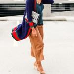 gucci dupe cardigan, striped cardigan, color block v neck cardigan, cardigan and culottes outfit, culottes outfit, fall outfit, how to wear long cardigan, gucci inspired, dallas blogger, black dallas blogger, black fashion blogger