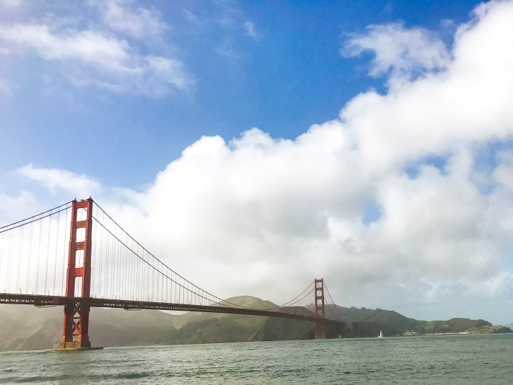 Golden Gate Bridge, San Francisco tourist attraction, san francisco travel diaries