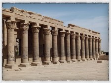 Colonnade at Philae Temple