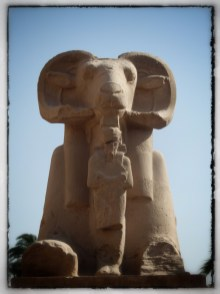 Ram headed Sphinx