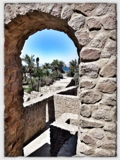 The old castle at Aqaba