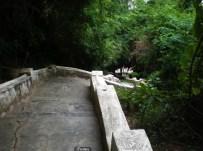 A long climb to Pak Ou Caves