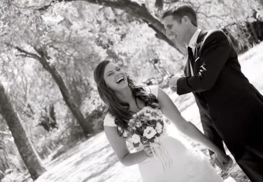 Brittany Maynard on her wedding day.