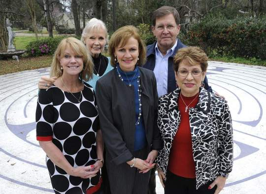 Hospice of Acadiana, whose volunteers include, from left, Martie Beard, Lyle Ann Hernandez, Ann Wallace, Lewis Bernard and Charlene Miller, annually visit state prisons to support inmates administering end-of-life caregiving to fellow prisoners.