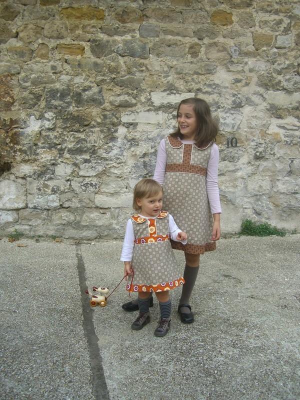 Robe Cléome de Lou and me