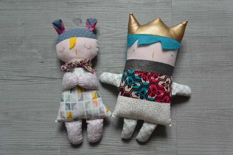 poupées à coudre ferdinand rosalie (2)