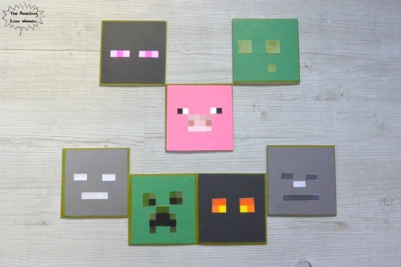 Cartes anniversaire Minecraft