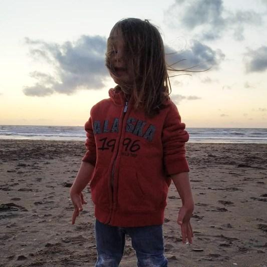 Chouchou on the beach