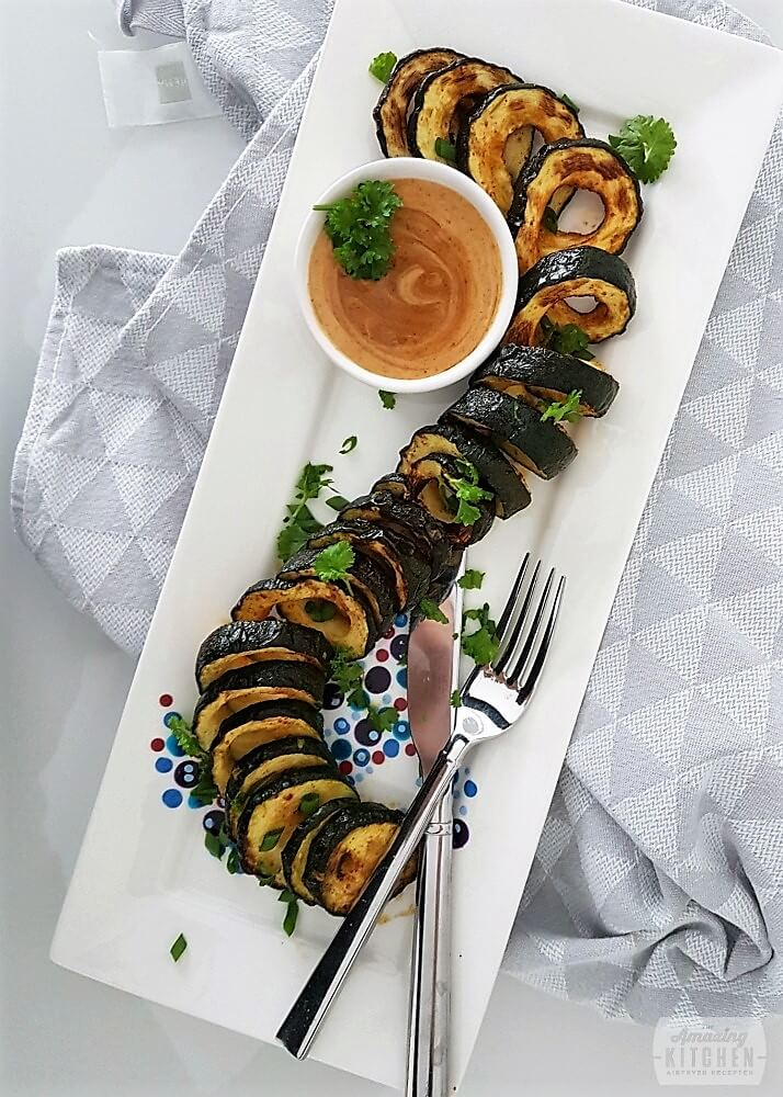 Courgette spiraal