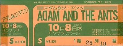 Adam atA J ticket