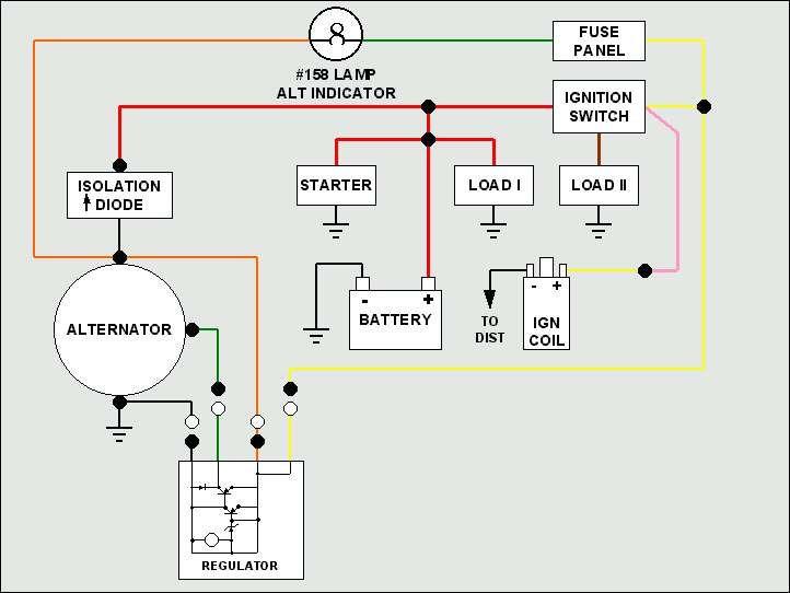 motorola marine alternator wiring diagram