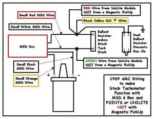 MSD 6al to stock AMX tach  The AMC Forum  Page 2