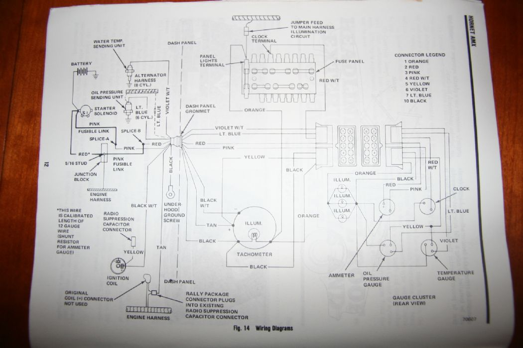 Amc Javelin Wiring Schematic - Wiring Diagram Networks