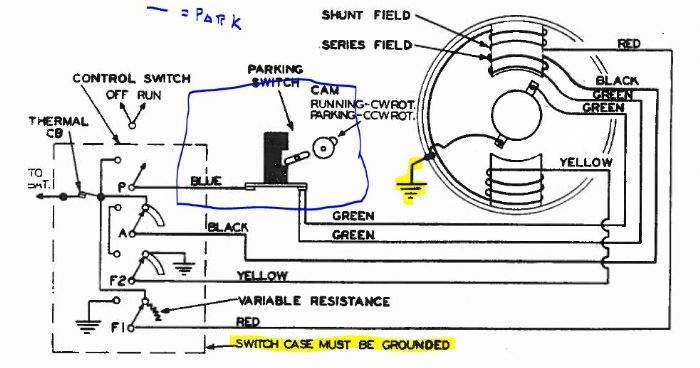 3 wire wiper motor wiring diagram