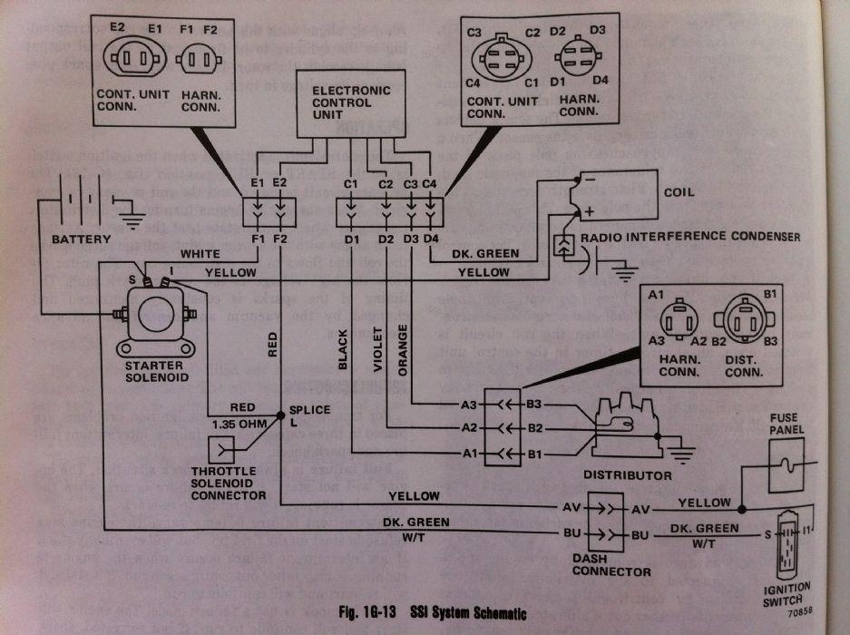 gm 4 3 to amc hei wiring diagram