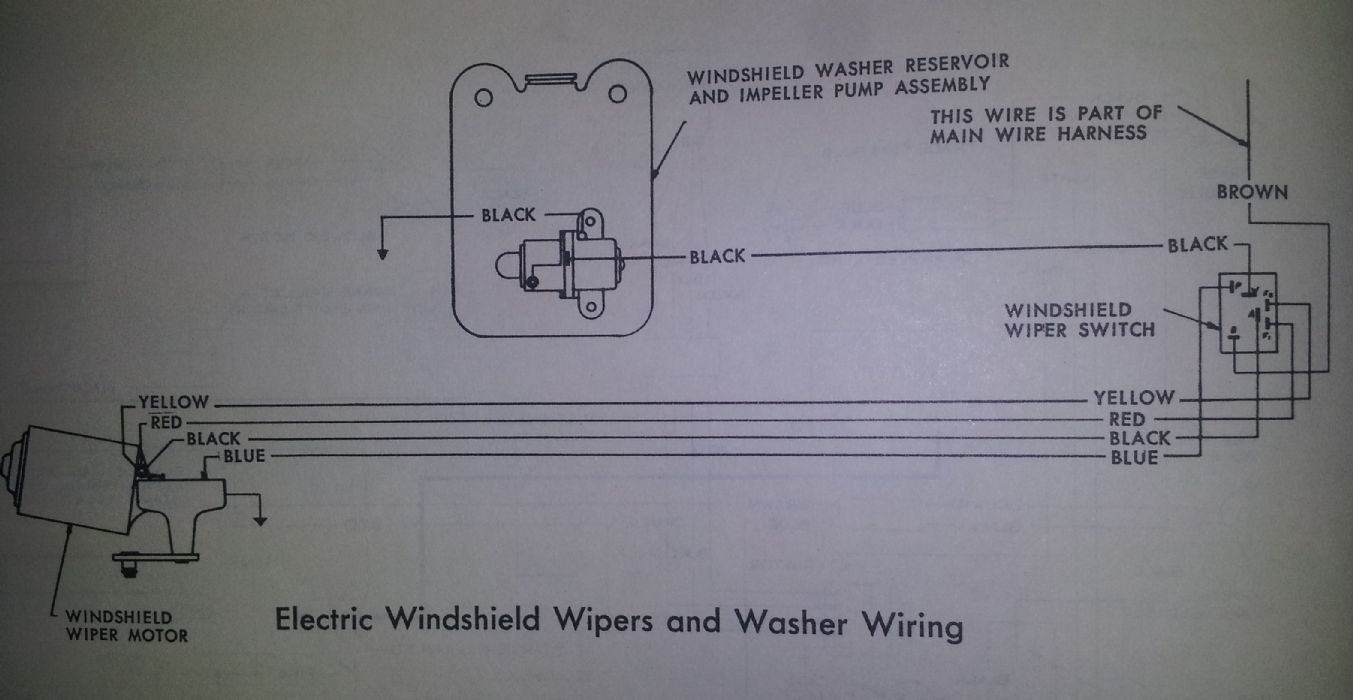 Besides Chevy Wiper Motor Wiring Diagram On 67 Mustang Wire Harness