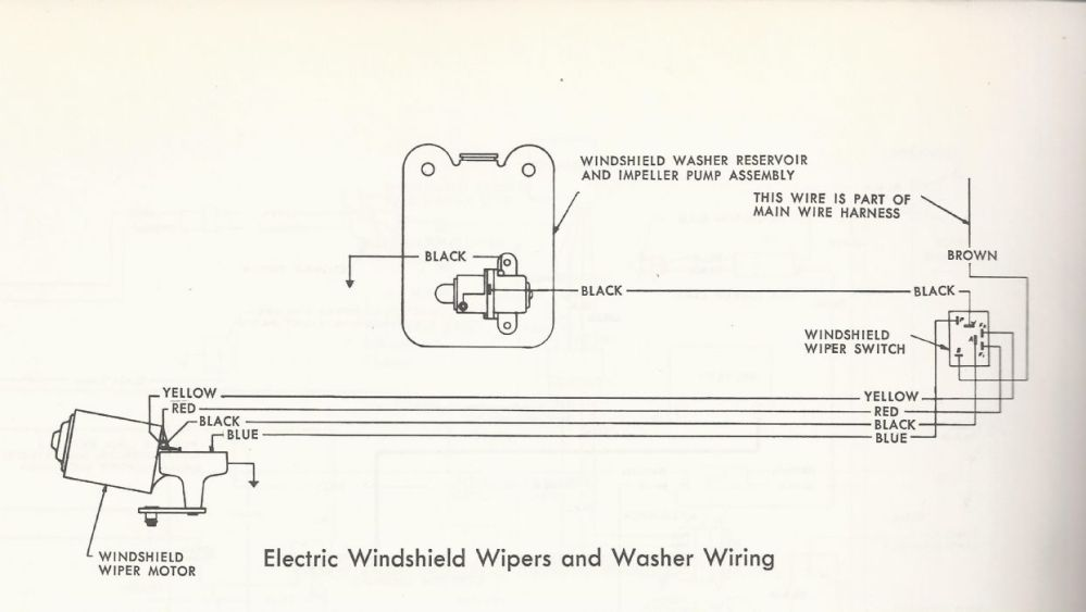 medium resolution of wiper motor won u0027t park the amc forumthere u0027s no ground wire shown on