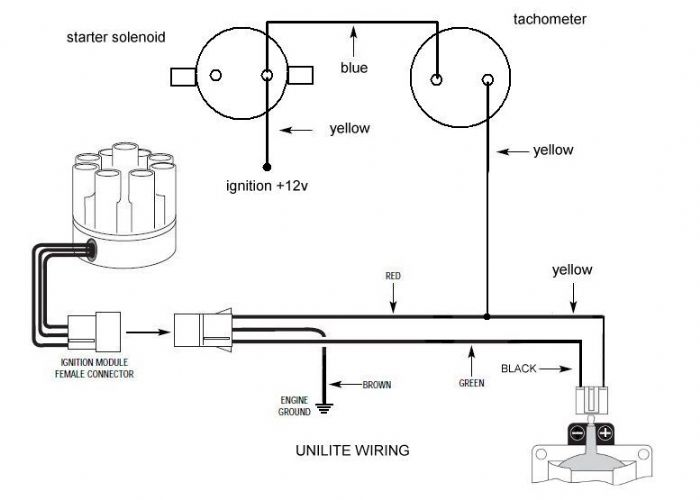 Unilite Distributor Wiring, Unilite, Free Engine Image For