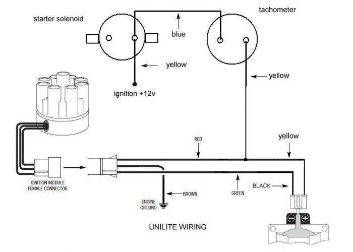 mallory unilite distributor wiring diagram mallory unilite
