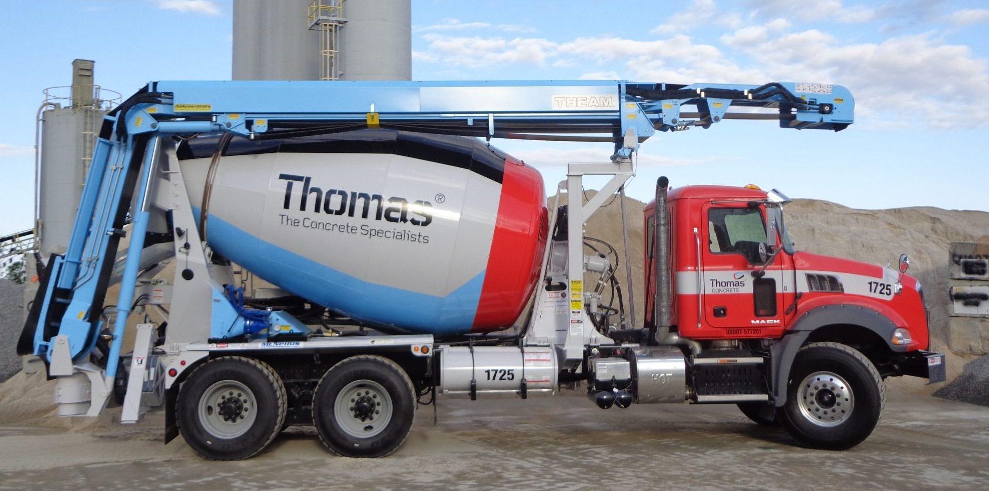 theam conveyors concrete mixer