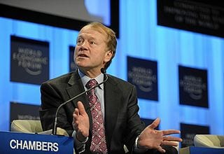 John Chambers, Cisco CEO