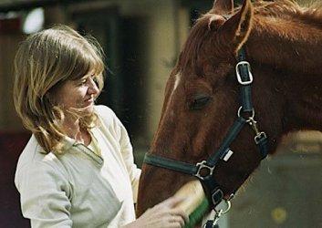 Horseback riding in Umbria.