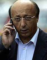 Luciano Moggi was at the center of an Italian soccer scandal involving Juventus of Turin.