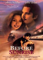 Before Sunrise, Linklater, Hawke, Delpy, Europe, romance, train station