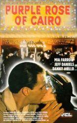 Jeff Daniels, Mia Farrow, Purple Rose of Cairo, New Jersey, fantasy, Woody Allen