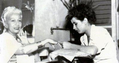 The Via Veneto salon attracted La Dolce Vita VIPs, which included most of high-class Rome.