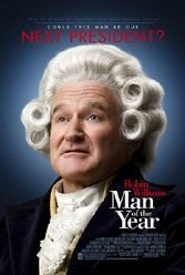 Robin Williams can't get Levinson's political satire off the ground.